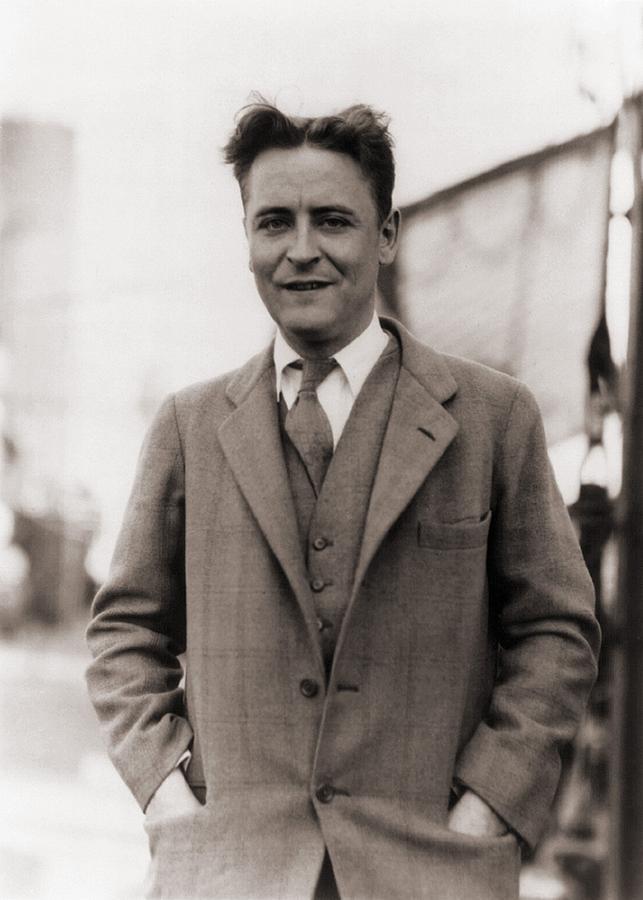 F. Scott Fitzgerald, 1896-1940 In 1928 Photograph