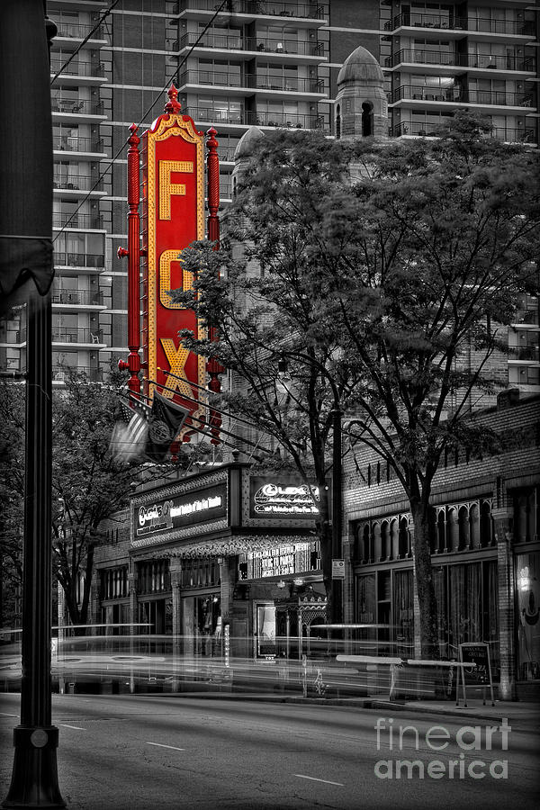 Fabulous Fox Theater Photograph