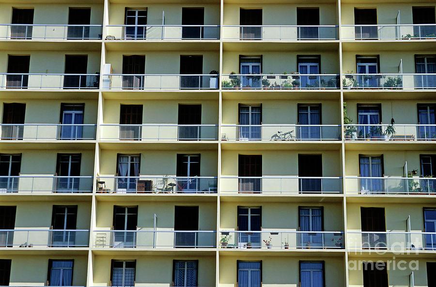 Facade Of A Modern Apartment Building By Sami Sarkis