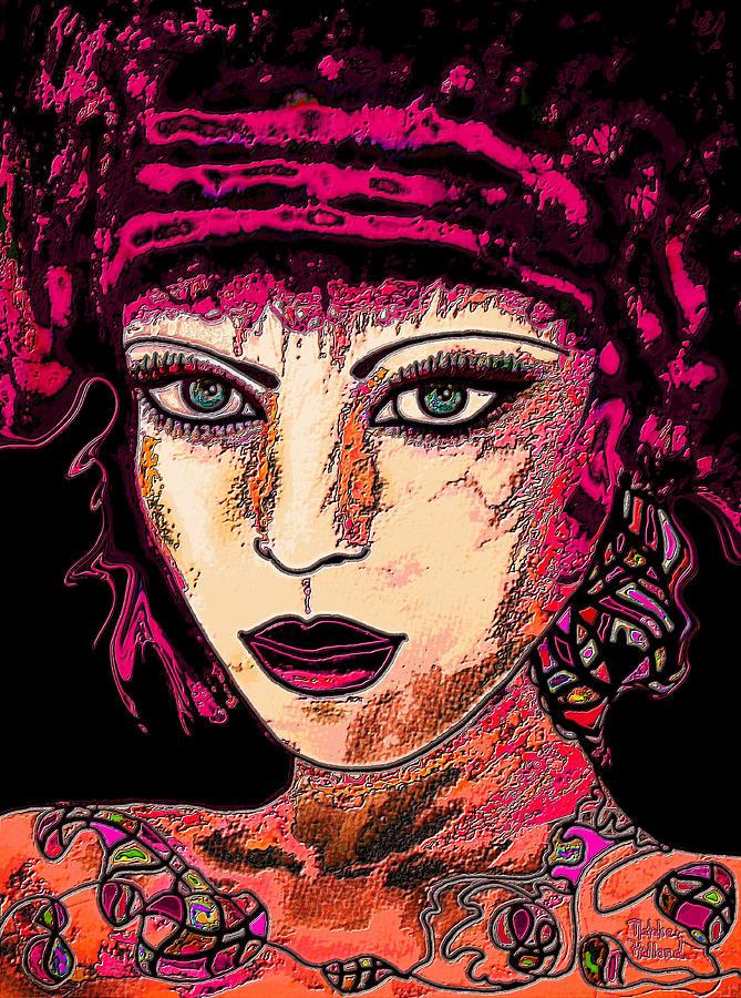 Face 13 Mixed Media