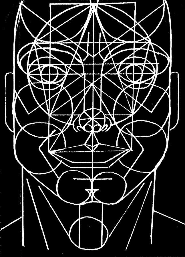 Face Geometrized Digital Art