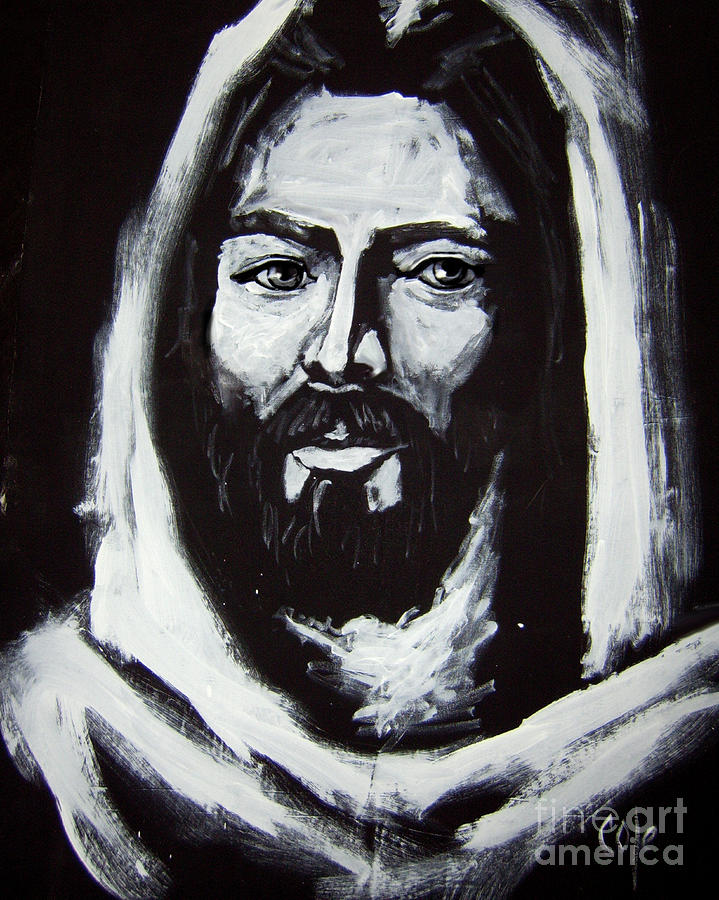 Face Of Christ Ccsa Painting  - Face Of Christ Ccsa Fine Art Print