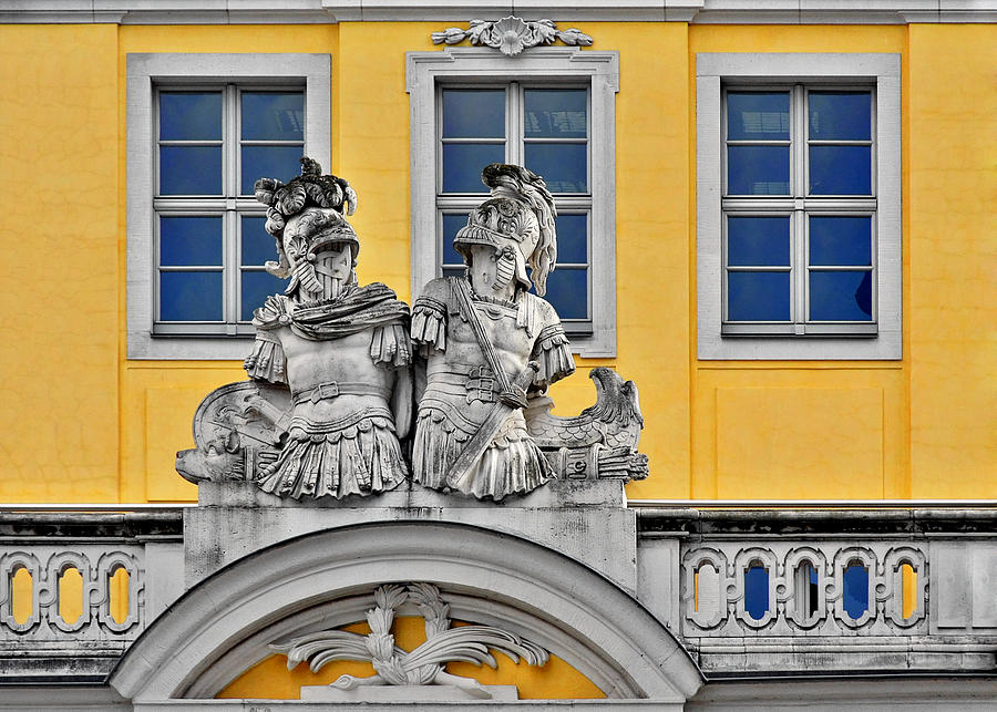 Dresden Photograph - Faces Of Places In Dresden by Christine Till