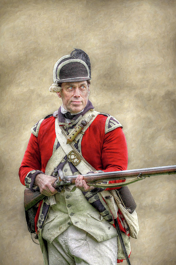 Faces Of The American Revolution British Soldier Digital ...
