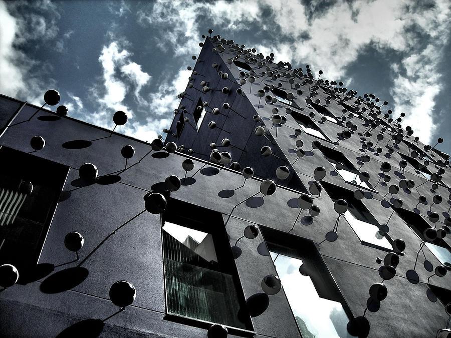 Fachada Con Los Ojos - Barcelona Photograph