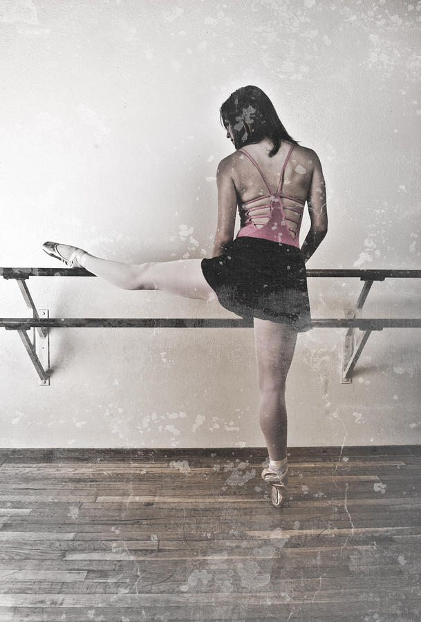 Faded Ballerina Photograph