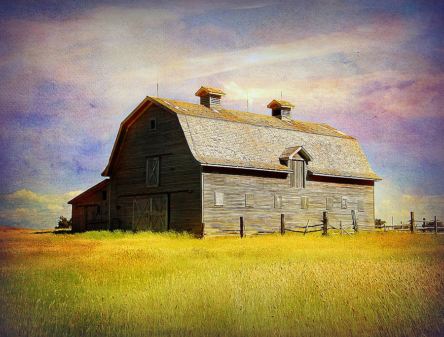 Barn Photograph - Fading Memories by Blair Wainman