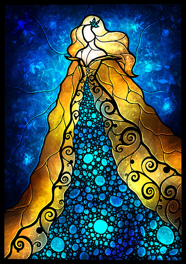 Fair Ophelia Digital Art