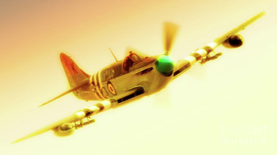Fairey Firefly Chino Planes Of Fame 2011 Photograph