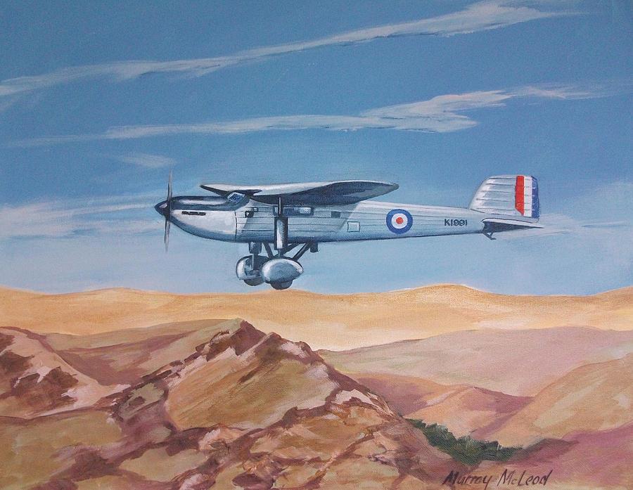 Fairey Long Range Painting