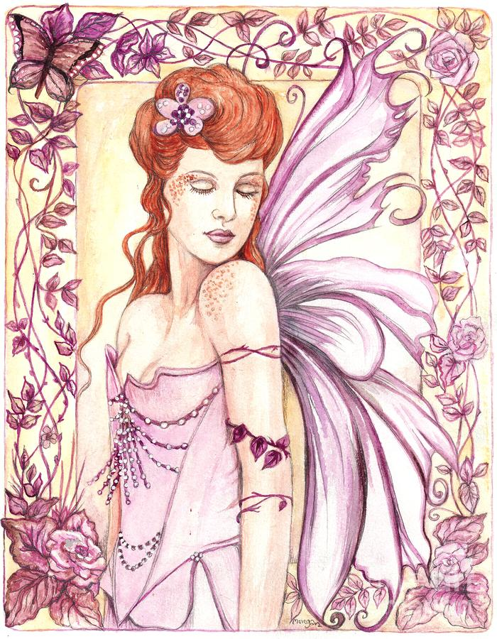 Fairy Collection 2 Painting  - Fairy Collection 2 Fine Art Print