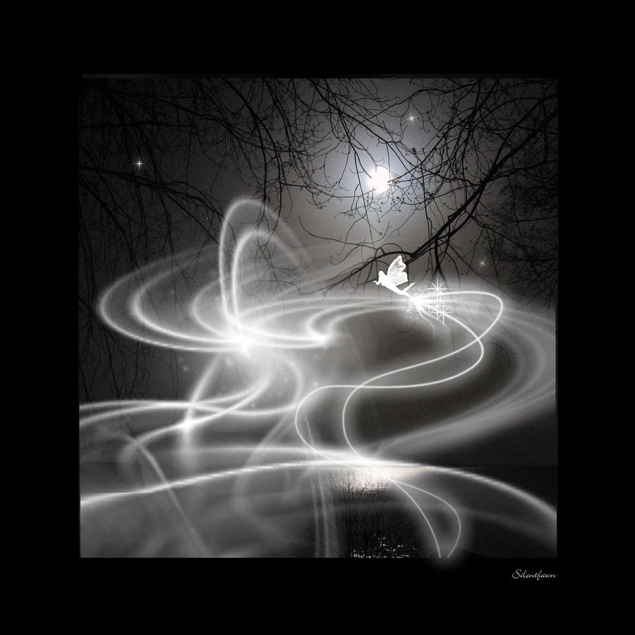 Fairy Fog Painting  - Fairy Fog Fine Art Print