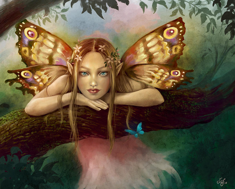 Fairy Girl Digital Art