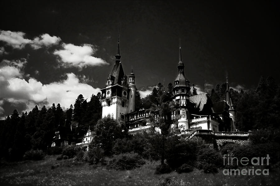 Fairytale Castle Photograph  - Fairytale Castle Fine Art Print
