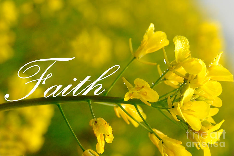 Faith Digital Art  - Faith Fine Art Print