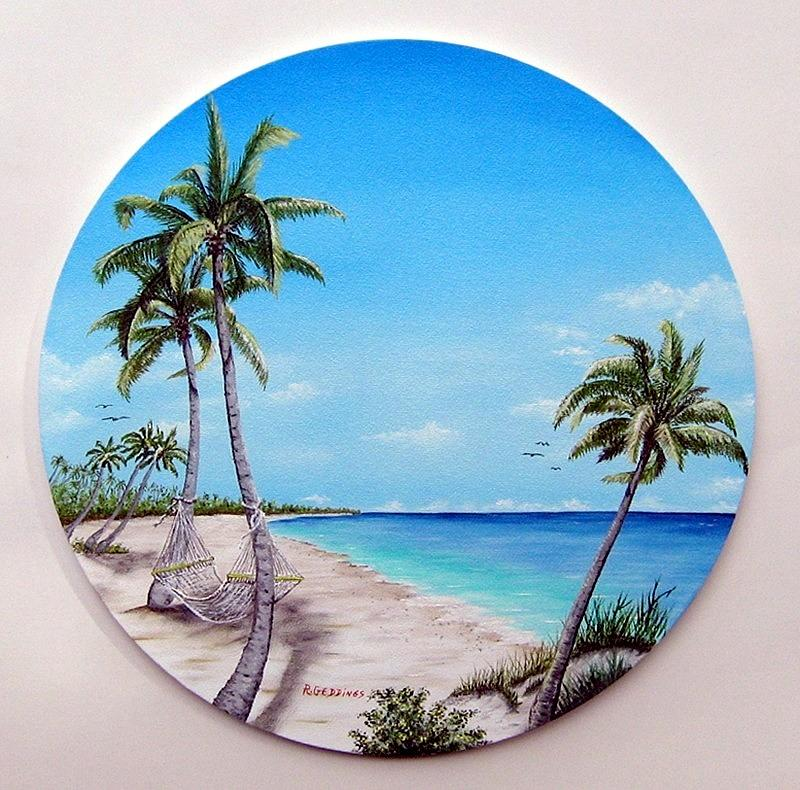 Palm Painting - Faith by Riley Geddings