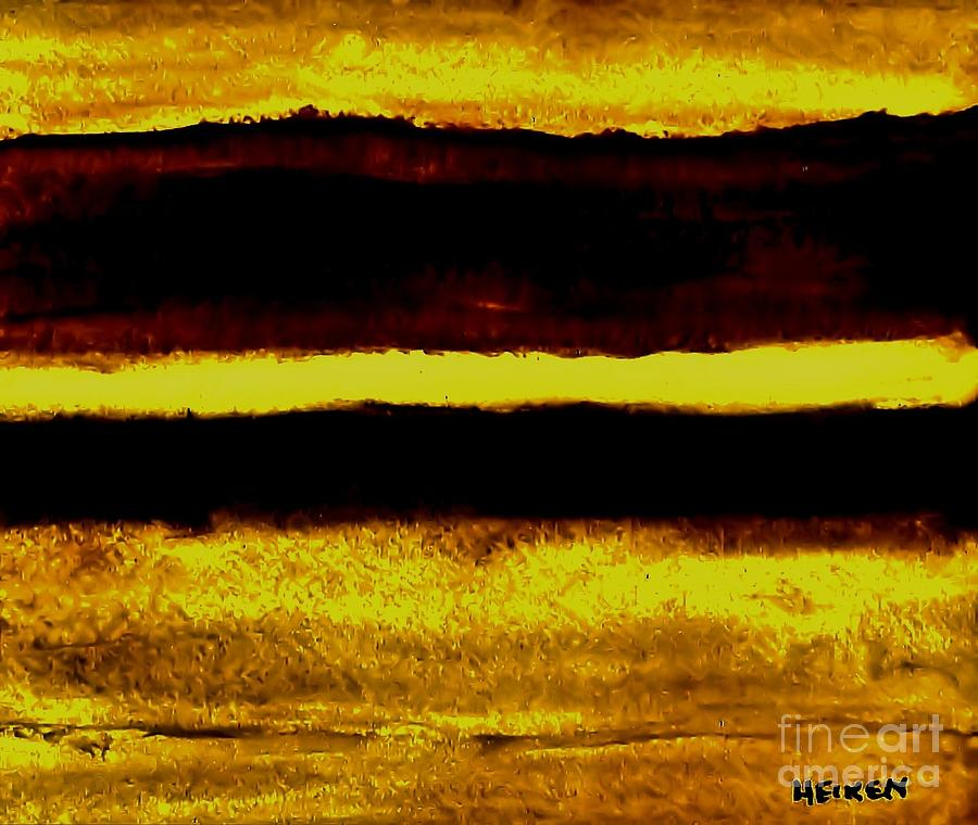 Fall Afternoon Abstract Painting