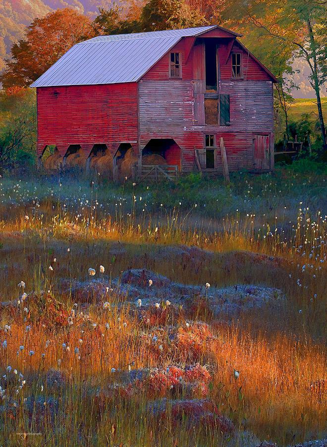 Fall Barn Photograph