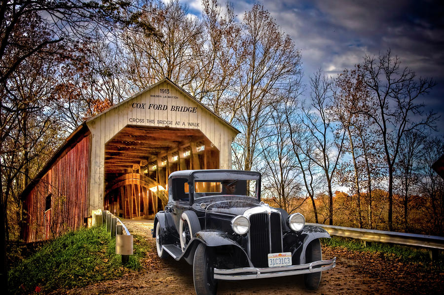 Fall Country Drive Photograph  - Fall Country Drive Fine Art Print