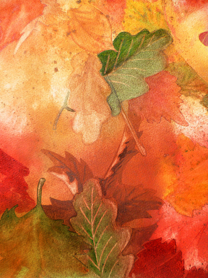 Fall Impressions V Painting