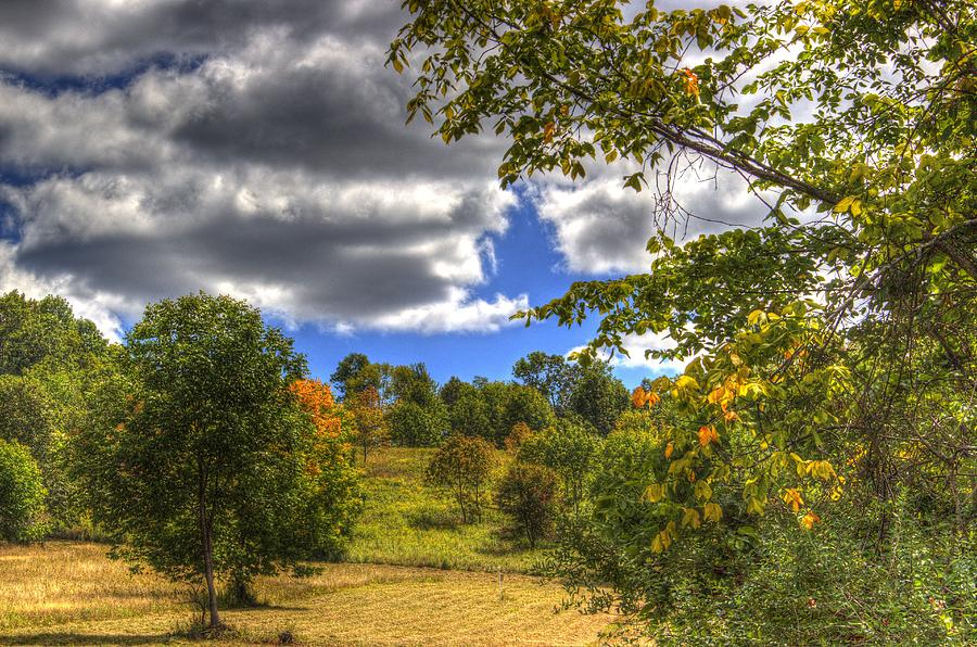 Fall in the air is a photograph by laurie cybulak which was uploaded