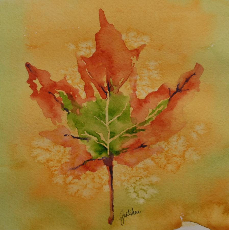 30 Innovative Examples Of Leaf Painting