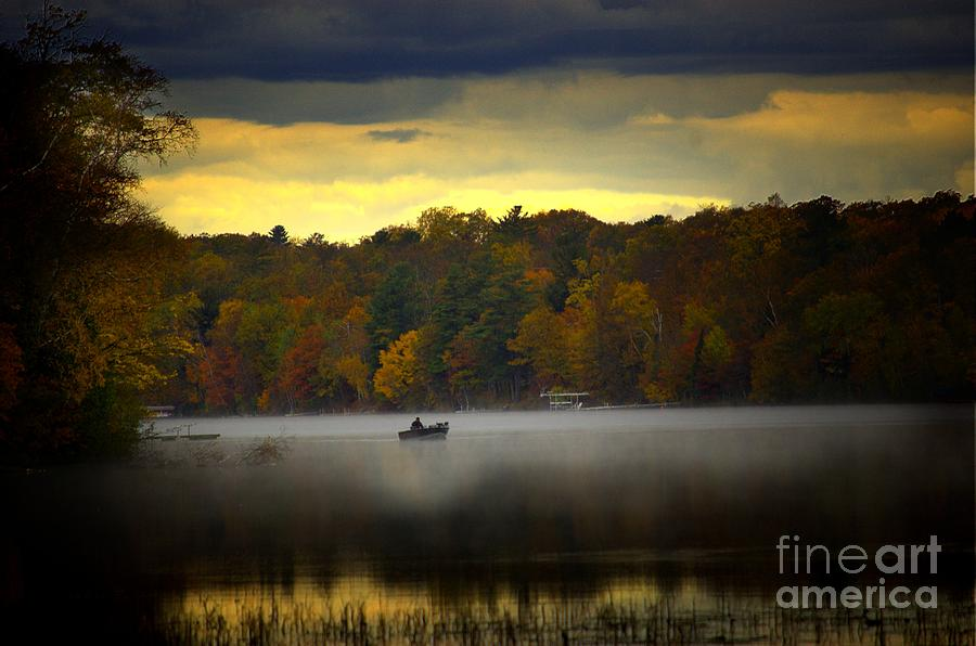 Fall Morn On The Chippiwa Photograph  - Fall Morn On The Chippiwa Fine Art Print