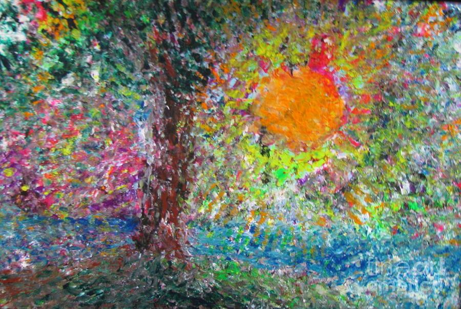Fall Sun Painting