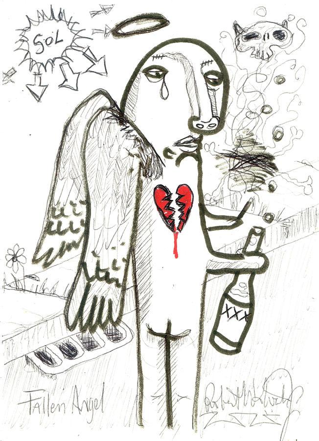 Fallen Angel Painting
