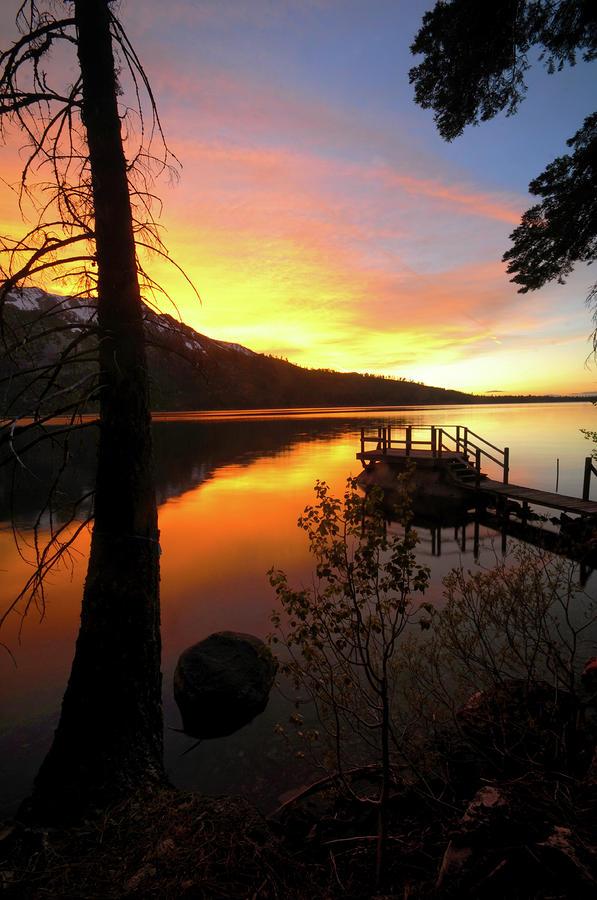 Fallen Leaf Lake Photograph