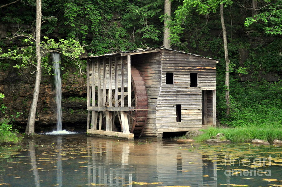 Falling Spring Mill 3 Photograph