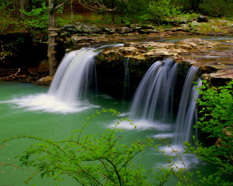 Falling Water Falls Photograph