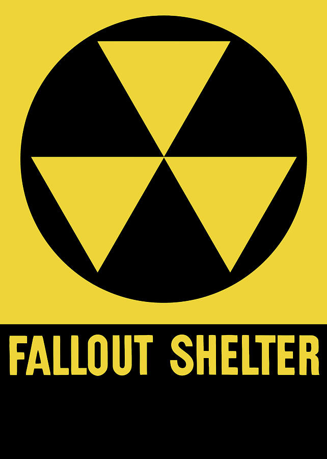 Fallout Shelter Sign Digital Art