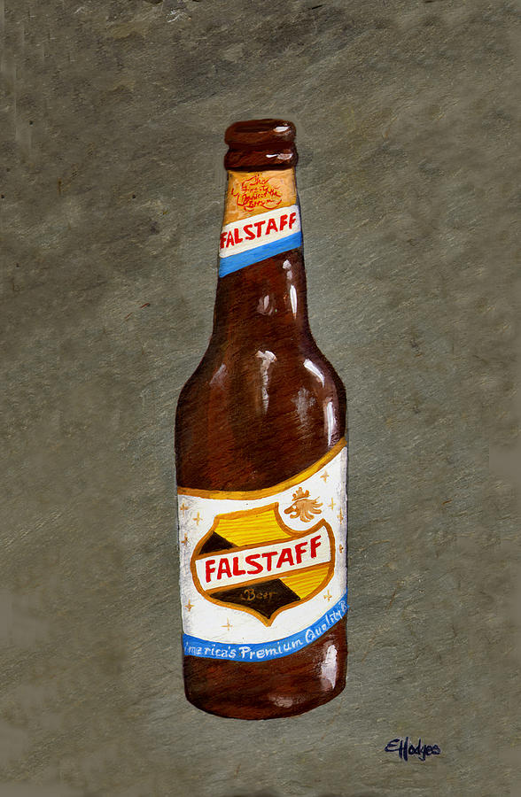 Falstaff Beer Bottle Painting