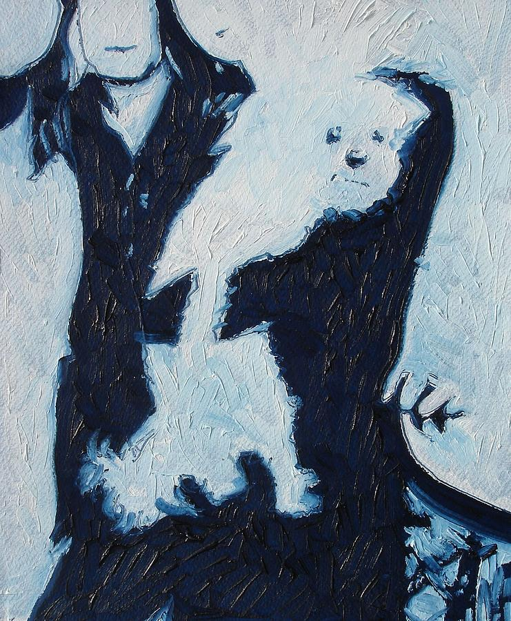 Family Dog Painting