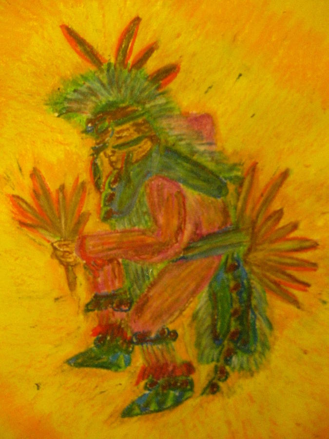 Fancy Dancer Painting