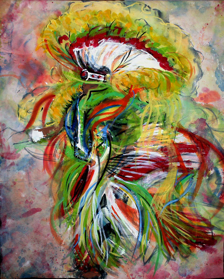 fancy Dancer II Painting