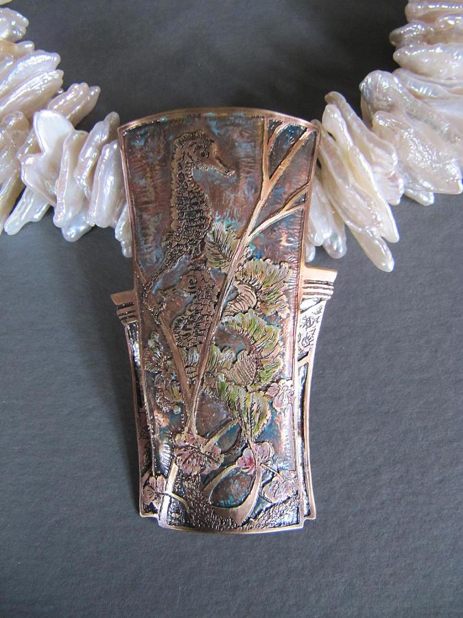 Seahorse Jewelry - Fancy Frolic by Brenda Berdnik