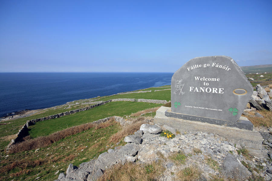 Fanore Village Photograph