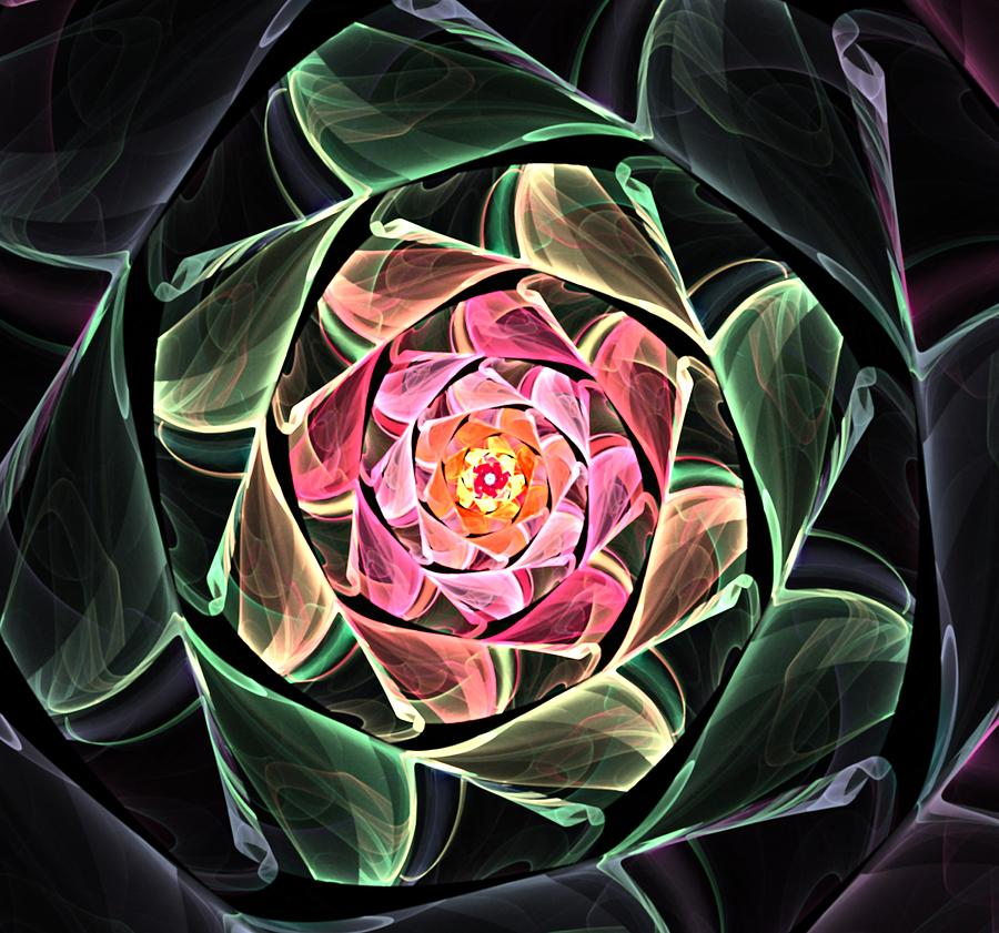 Fantasy Floral Expression 111311 Digital Art