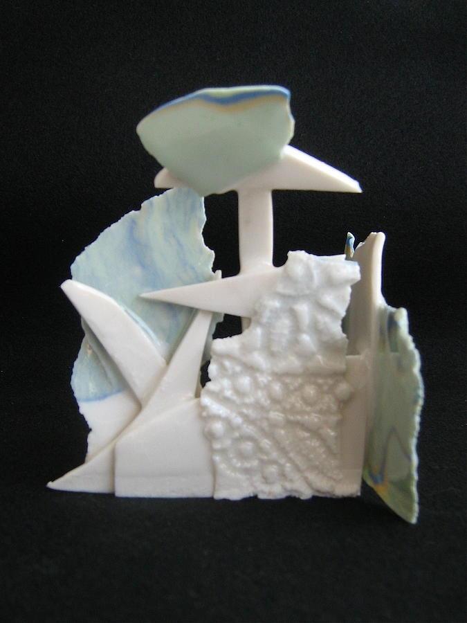 Fantasy In Porcelain Ceramic Art