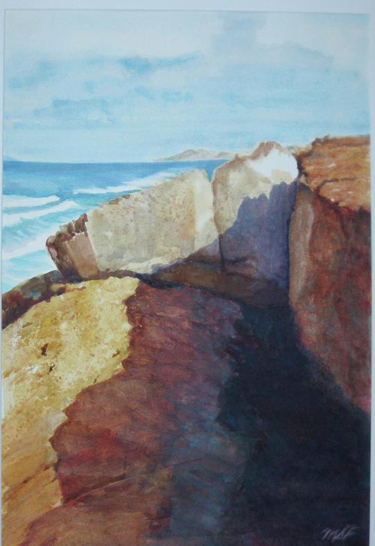 Farallon Painting