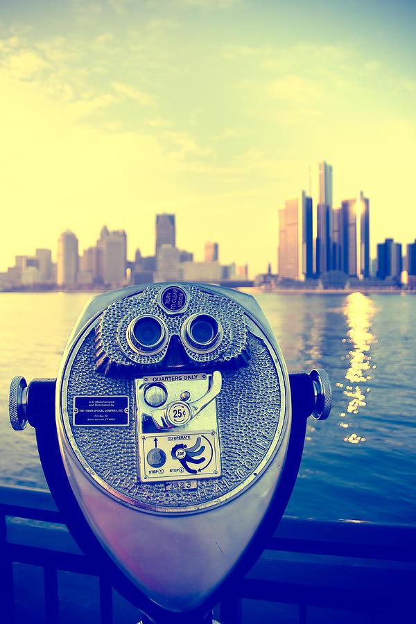 Faraway Detroit Photograph