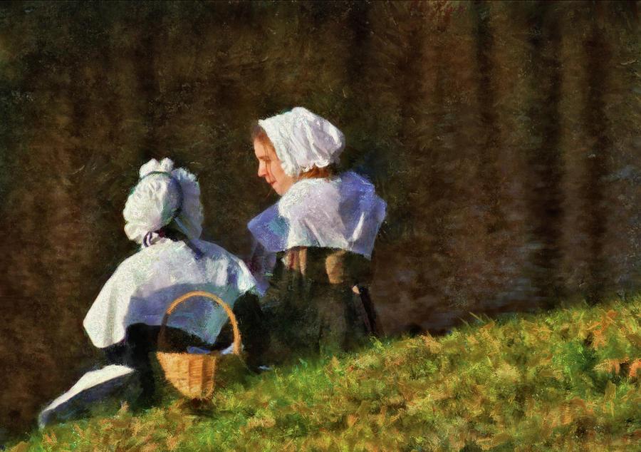 Farm - Farmer - The Young Maidens Photograph