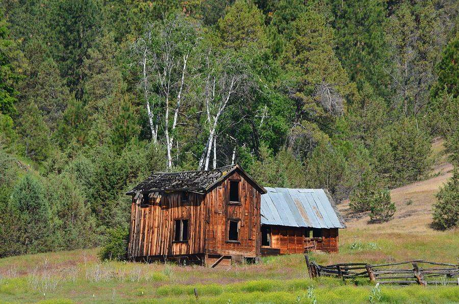 Farm Photograph - Farm House by Melissa  Maderos