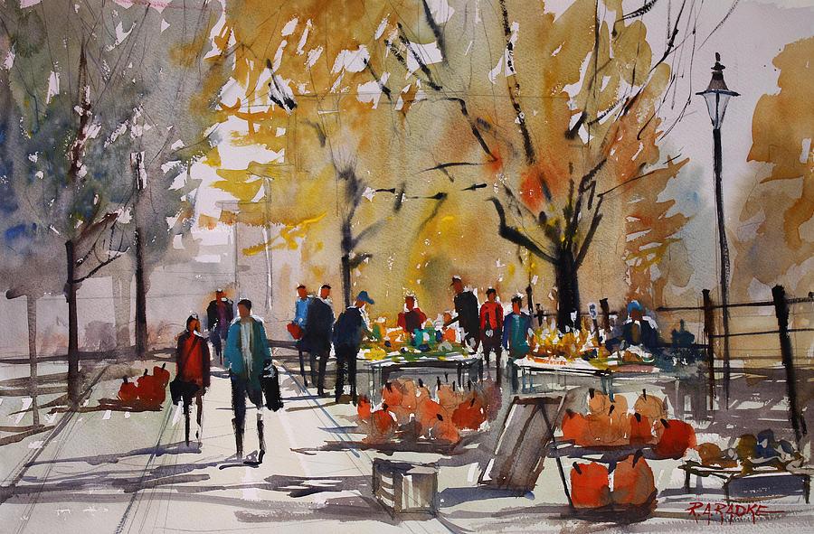 Farm Market - Menasha Painting