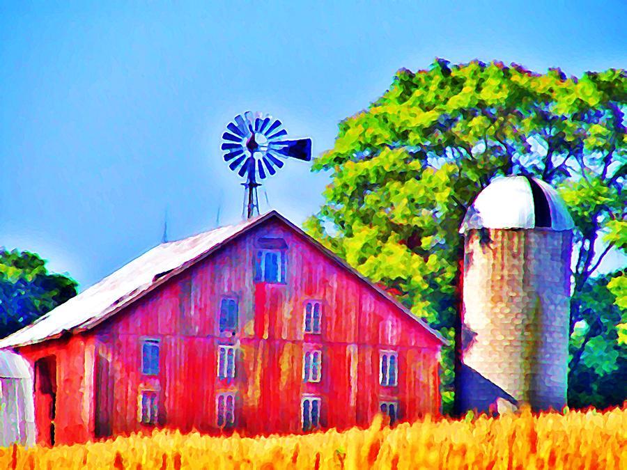 Farm Near Gettysburg Photograph