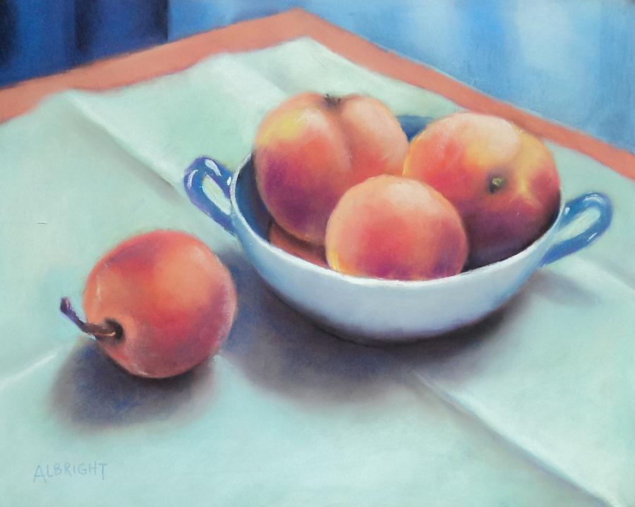 Farm Peaches Painting