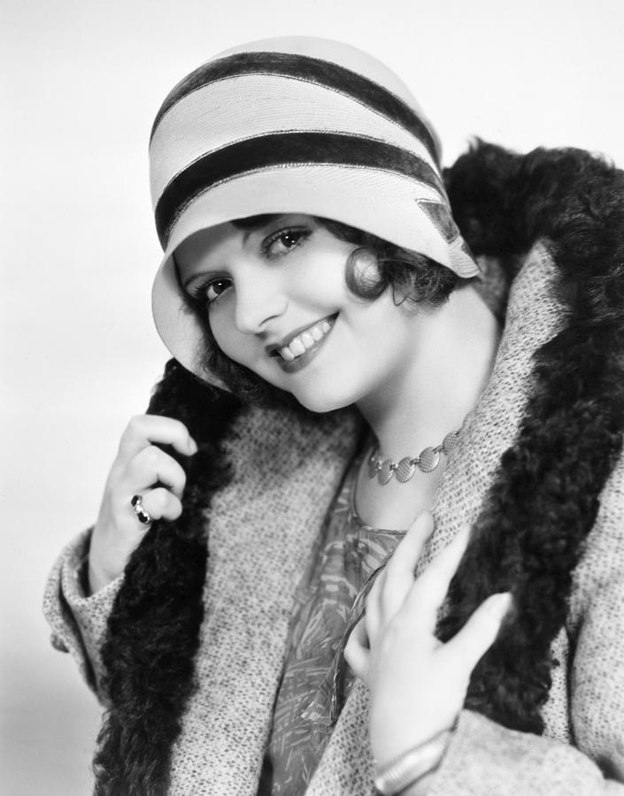 Fashion: Cloche Hat, 1929 Photograph
