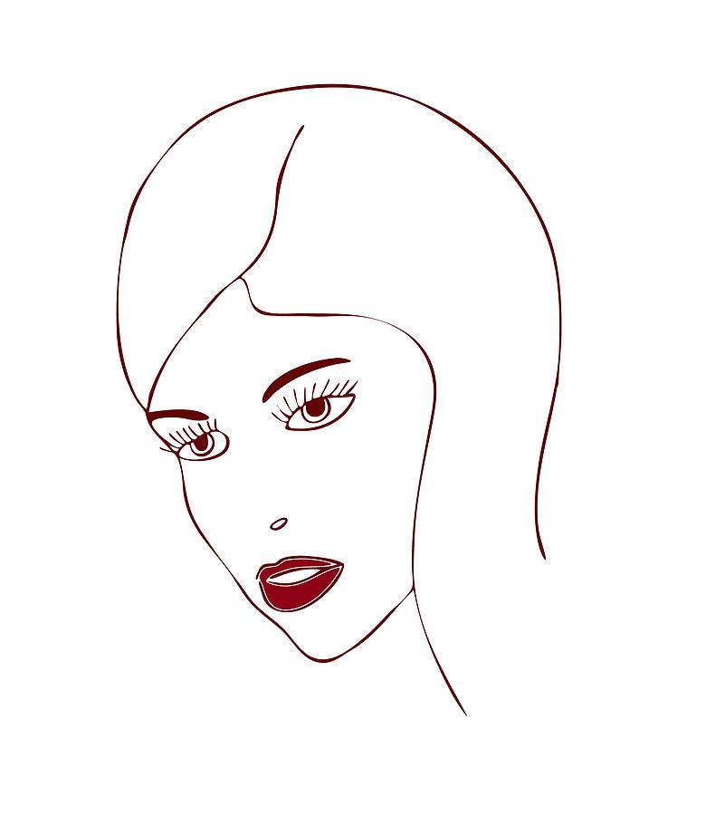 Fashion Model Drawing